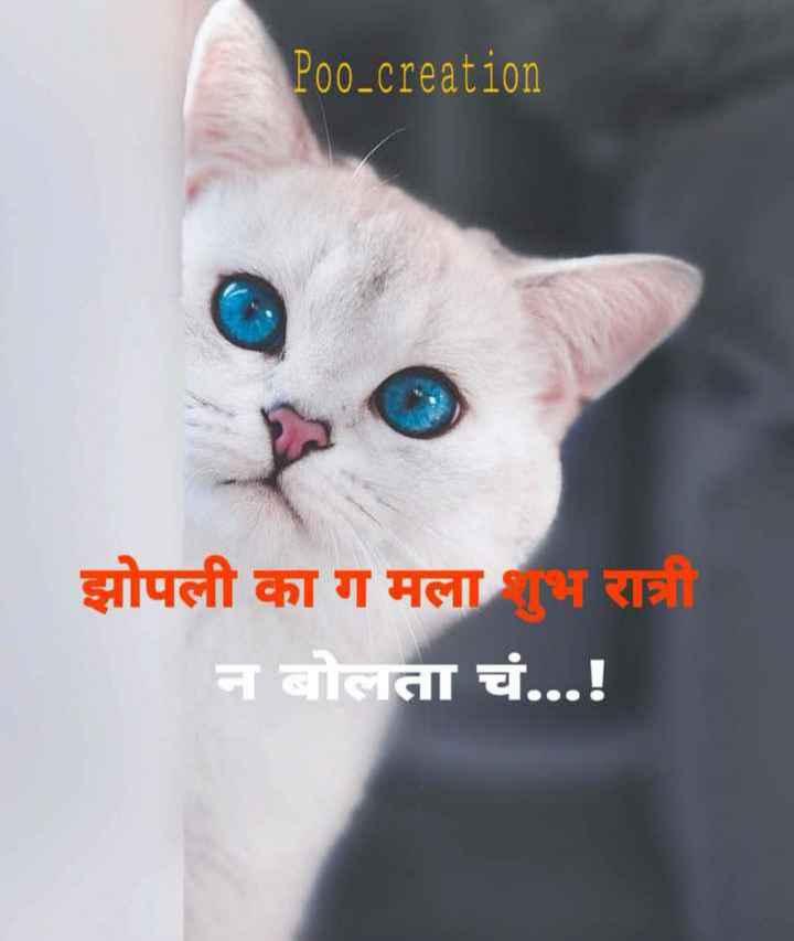 #attitude - Poo _ creation झोपली का ग मलाभ रात्री न बोलता चं . . . ! - ShareChat