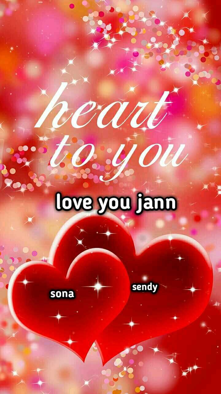 😍 awww... 🥰😘❤️ - veaut to you love you jann sendy sona - ShareChat