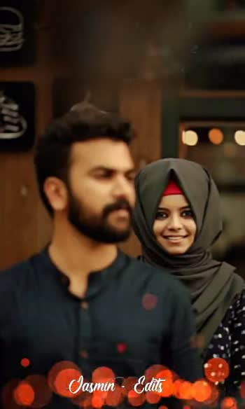 🍿  ആൽബം സോങ്സ് - - കാൽകൊലുസിൻ കൊഞ്ചൽ കേൾക്കുവാൻ Jasmin - Editi Va Allah Jasmin - Editi - ShareChat
