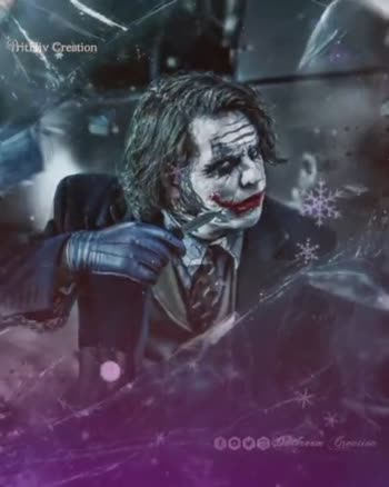 batman joker - Prithiv Creation teen breedom Bit Hiv Creation 0000 Matkasem Gracias - ShareChat