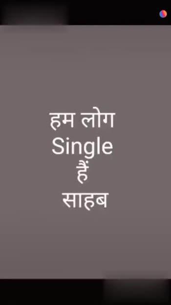 i am single boy - ShareChat