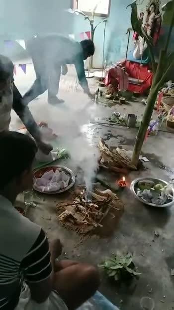 সরস্বতী পুজোর মুহূর্ত🎆 - ShareChat