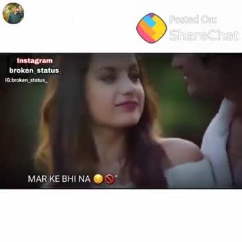 True Love💞 - Posted On : ShareChat Instagram broken _ status IG . broken status broken ShareCa Shubham Nandardhane shubham _ pillu { pillu _ Meri _ life _ line ) Follow - ShareChat