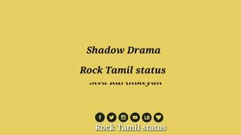 vijay tv - Rock Tamil status W mit Mo Kuch ரெளத்திரம் Rock Tamil status படிகு - ShareChat