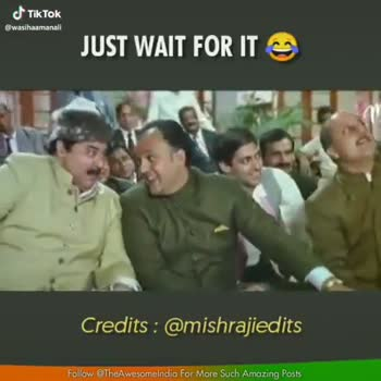 📹 વીડિઓ સ્ટેટ્સ - JUST WAIT FOR ITS THE AWESOME INDIA Credits : @ mishrajiedits @ wasihaamanall Follow @ TheAwesomeindia for More Such Amazing Posts JUST WAIT FOR IT THE Credits : @ mishrajiedits @ wasihaamanall Follow @ TheAwesomelndia For More Such Amazing Posts - ShareChat