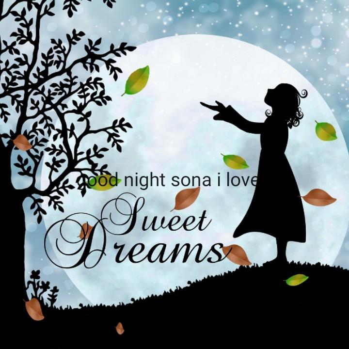 good night - Sood night sona i love pa Sweet Dreams - ShareChat