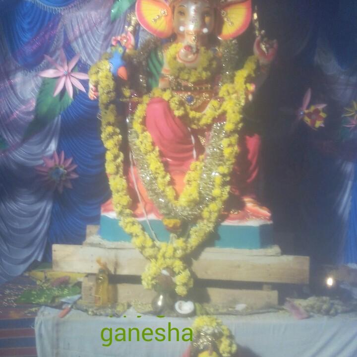 😇 ಗಜಾನನ ಪದ್ಯ - ganesha - ShareChat