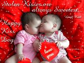 happy kiss day - ShareChat