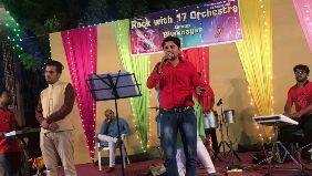 🗓 નવરાત્રીનો કાર્યક્રમ - 2 Rock with 17 Orchestra Group Bhavnagar Ramdevsin P 36242 Rock with 17 Orchestra Group Bhavnagar - ShareChat