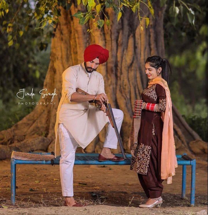 💑 punjabi couples - Jinda Singh PHOTOGRAPHY - ShareChat