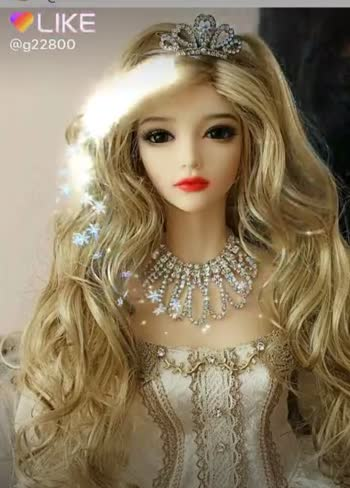 🧚♀️cute dolls - OLIKE @ g22800 QLIKEAPP Magic Video Maker & Community - ShareChat