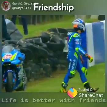 👬 பிரெண்ட்ஷிப் ஸ்டேட்டஸ் - போஸ்ட் செய்தவர் , @ surya3471 Friendship SINCLQEERS Posted On : ShareChat Life is better with friends og bruger Friendship போஸ்ட் செய்தல் @ surya 3471 Mn _ Endless Love Posted On : ShareChat Life is better with friends - ShareChat
