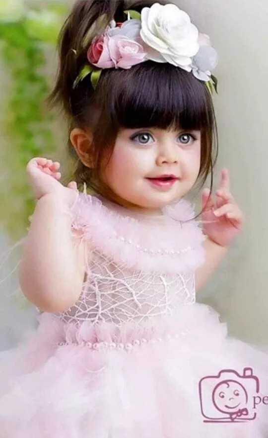 baby girl - pe - ShareChat