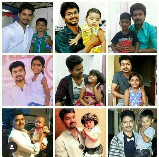 💜baby with thalapathy cuteness 💜💜 - ShareChat