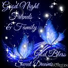 good night gif - Good Night Friends - # & Family Ged Bless Sweet Dreamerlinge - ShareChat