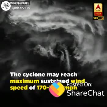 🌪 चक्रवाती तूफान फानी - Chowkida : Narendra Modi @ narendramodi न्यूज Chaired a high level meeting to review the preparedness relating to Cyclone Fani . The Central Government is ready to provide all possible assistance that would be required . Pravers for the safety and well - being of our citi Preparations to review the preparec Posted On : ShareChat ShareChat M Nisar Production nisar2675 ShareChat Ric ! Follow - ShareChat