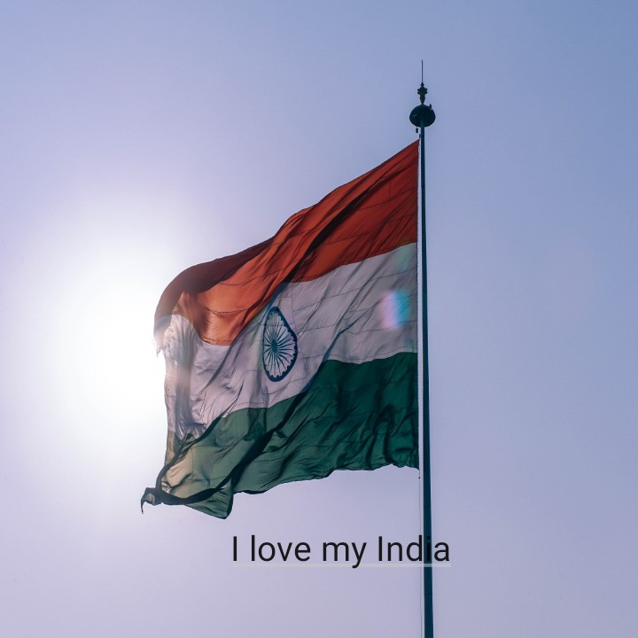 नाम के अक्षर - I love my India - ShareChat