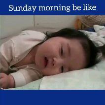 sunday morning smile😃😃 - Sunday morning be like Sunday morning be like - ShareChat