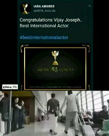 விஜய் - IARA AWARDS @ IARA _ Awards Congratulations Vijay Joseph . . Best International Actor . # bestinternationalactor AND THE PARA COES TO @ BaLa _ Vfc INTERNATIONAL ACHIEVEMENT RECOGNITION AWARDS - k @ @ @ id IARA AWARDS @ IARA _ Awards Congratulations Vijay Joseph . . Best International Actor . # bestinternationalactor AND THE ART COES TO @ BaLa _ Vfc INTERNATIONAL ACHIEVEMENT RECOGNITION AWARDS - k @ @ m @ id - ShareChat