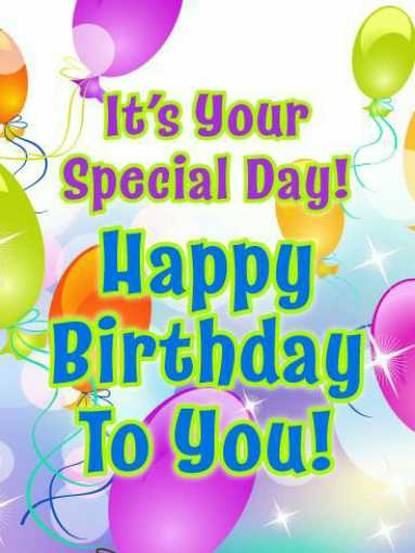 bday wishes - It ' s Your Special Day ! Happy Birthday To you ! - ShareChat