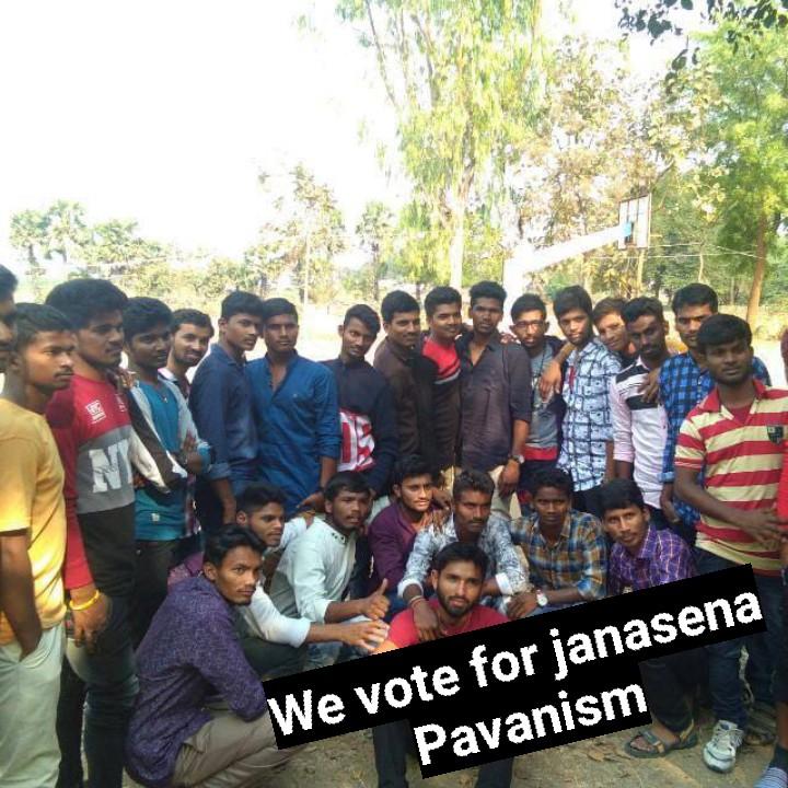 జనసేన పార్టీ మేనిఫెస్టో - We vote for janasena Pavanism - ShareChat