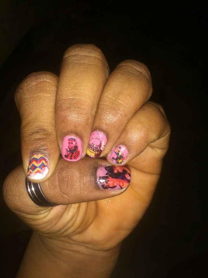 beautiful nail art - ShareChat