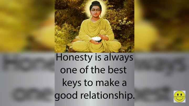 beautiful quotations - Honesty is always one of the best keys to make a good relationship . Co - ShareChat