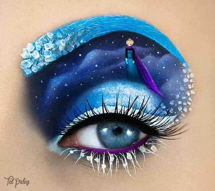 beutiful eye👀 - Yale poleg - ShareChat