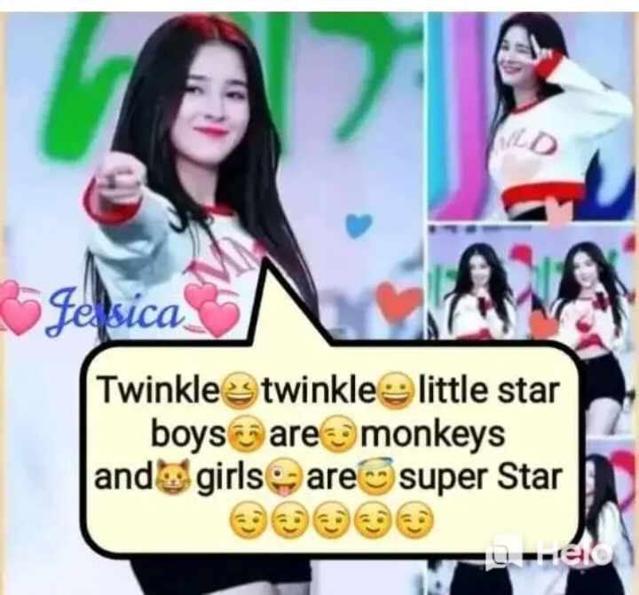 feel proud - ofesica Twinkle twinkle little star boys are monkeys and girls are super Star Su - seo ) - ShareChat