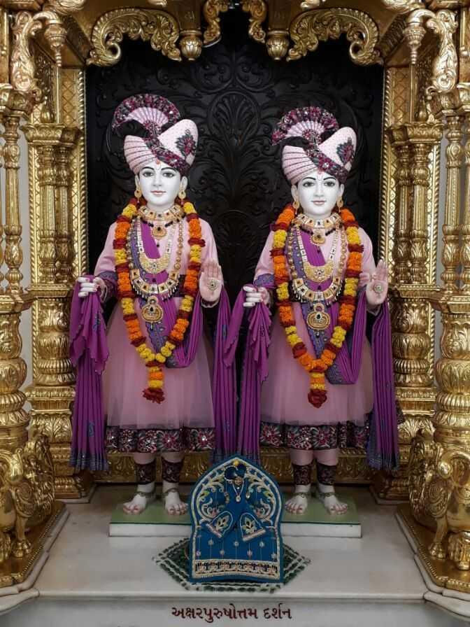 bhakti shakti - કઇ જઇ અક્ષરપુરુષોત્તમ દર્શન - ShareChat