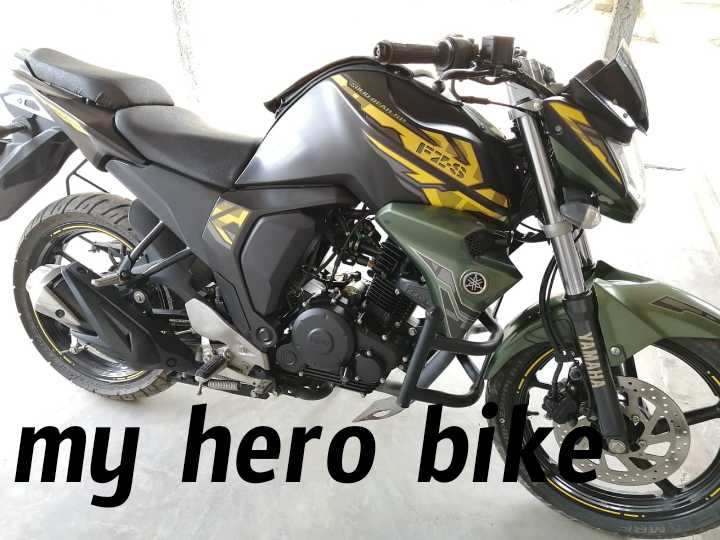bike - F2 - 5 YAMAHA my hero bike - ShareChat