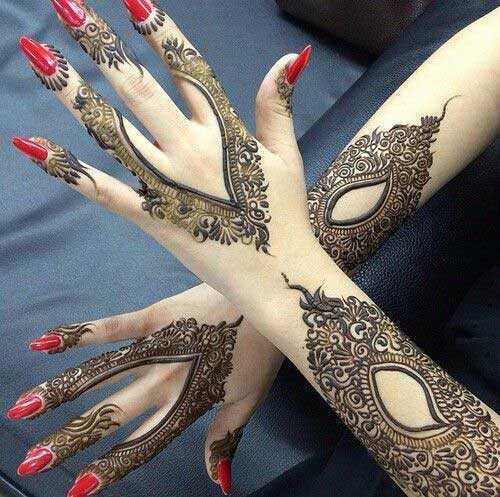 bridal mehandi - ste IS200 - ShareChat