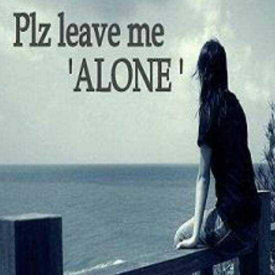 brocken heart - Plz leave me ALONE - ShareChat