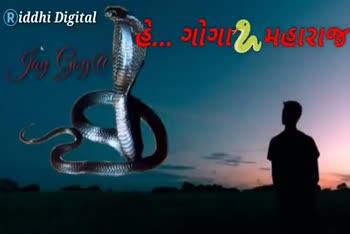 📲 વોલપેપર - Riddhi Digital Riddhi Digital ' મારી સાથે ના રહે . Riddhi Digital o d ne pod pod . 00 say yoga hapa Jay Goga Bapa Tay Goga izan - ShareChat
