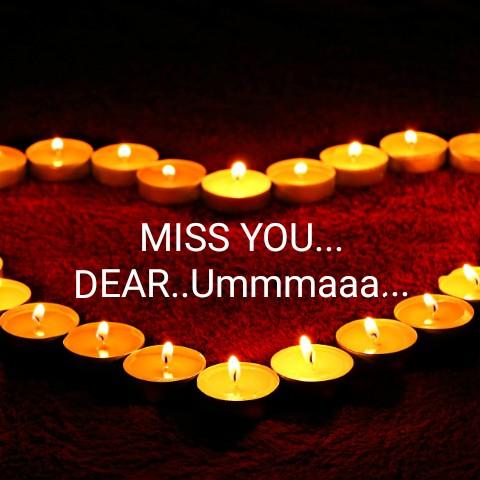 💌 പ്രണയം - MISS YOU . . . DEAR . . Ummmaaa . . . - ShareChat