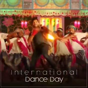 International Dance Day - international DANCE Day international DANCE DAY - ShareChat