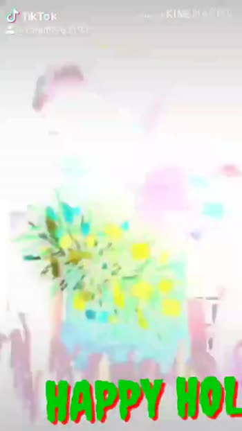 🎴ଶେୟରଚେଟ୍ ବେକଗ୍ରାଉଣ୍ଡ ହୋଲି ଶୁଭେଚ୍ଛା - Made with KINE MASTER Ο @ ranjit9963193 ΑΥΤΟ Made with KINEMASTER HAPPY HOLI Tol jit99 3193 - ShareChat