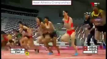 India - Asian Athletics Championships 1500m W cobs Freekick 4 . Final 3 . 07 - ShareChat