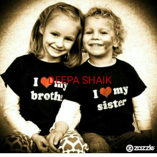 brother and sister - I PA SHAIK broth : imy sister zazzle - ShareChat