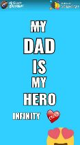 💖 i love roses 💖 - S8 852396259 Posted on : Share that DAD MY HERO INFINITY Chin2 Posted Dain : S8 52396299 Sharechat DAD MY HERO INFINITY Chen2 - ShareChat