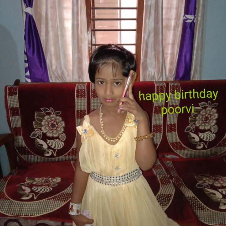 ರಾಧಿಕಾ ಪಂಡಿತ್ - happy birthday zapoorvi - ShareChat