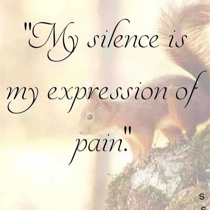"""""""...s. s..,,,,"""" - My silence is my expression of pain . nu - ShareChat"""