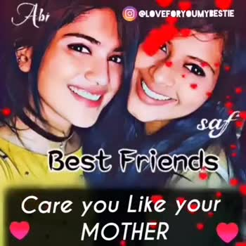 i love my friends - Abr O LOVEFORYOUMYBESTIE sat Best Friends Fight like your BROTHER O LOVEFORYOUMYBESTIE A saf , Best Friends I love you & I Miss you baby - ShareChat