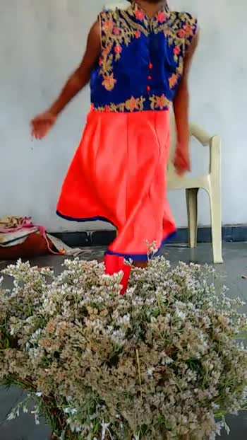 నాన బియ్యం బతుకమ్మ - ShareChat