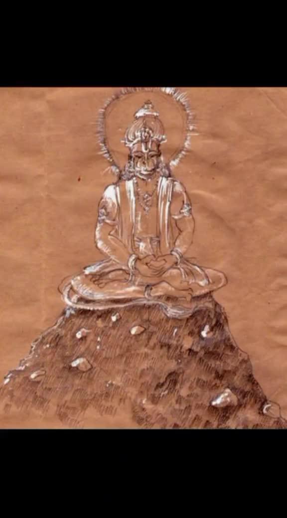 Jai Sri Ram - : @ kongalpavan : @ kongalpavan 1 TODAY A hanuman Indair - ShareChat