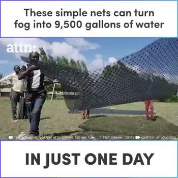 😲వింతలు -విశేషాలు - attn : In Chile , it ' s a small fishing village of about 250 people SHARE THIS VIDEO IF YOU THINK WE NEED TO DO MORE TO INCREASE OUR WATER SUPPLY attn : COURTESY OF AGUONIS - ShareChat