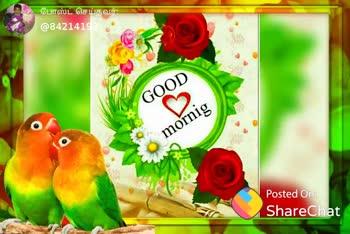 🎵நாட்டுப்புற பாடல்கள் - போஸ்ட் செய்தவர் . @ 84 141 - 21 Tu Oh Goodmoining Posted On : ShareChat போஸ்ட் செய்தவர் . - @ 84214192 good morning Posted On : ShareChat - ShareChat