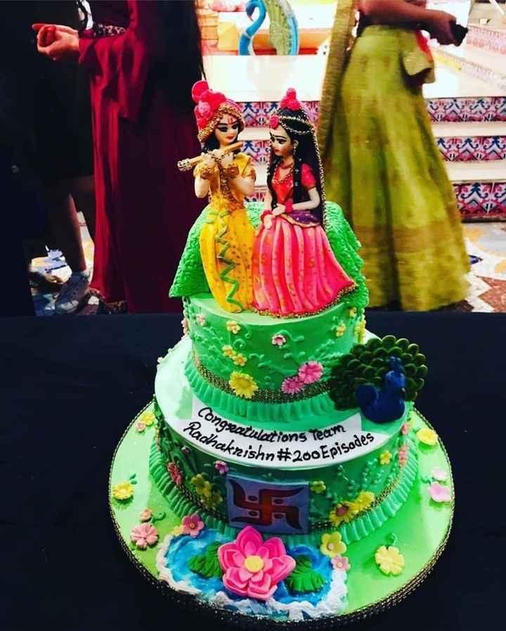 🎂 cake - Congratula ABEL Radhakris Cations Team krishn # 200 EP So Episodes - ShareChat