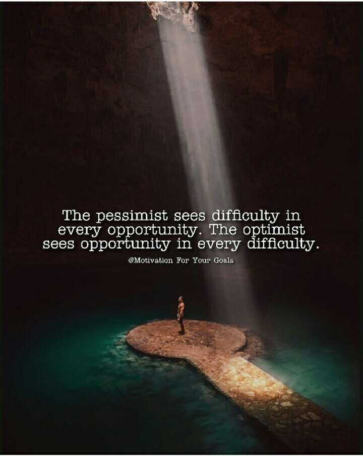 cat lover🐈 - The pessimist sees difficulty in every opportunity . The optimist sees opportunity in every difficulty . @ Motivation For Your Goals - ShareChat