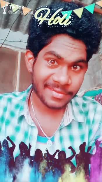 🌹హ్యాపీ హోలీ 2019 - : @ darlinggopal . cfTikTok @ darlinggopal - ShareChat
